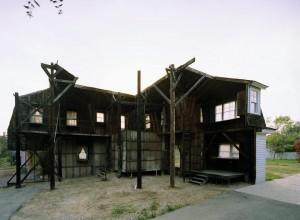 Universal Studios back-lot